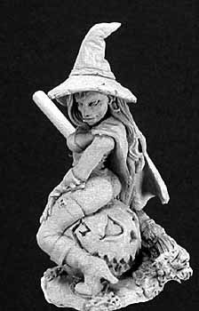 Elise, The Witch, 2869 Reaper Miniatures, Inc.