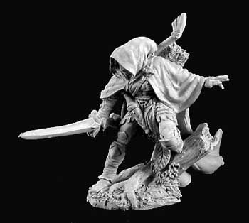 miniature giant dark heaven legends current 2900s nienna female elf ranger. Black Bedroom Furniture Sets. Home Design Ideas
