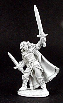 Aisha, Female Warrior (OOP), 2979 Reaper Miniatures, Inc.