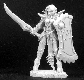 Casiatta, Female Anti Paladin, 2982 Reaper Miniatures, Inc.