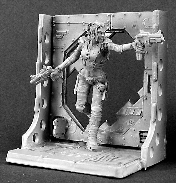 Belladonna, Female Privateer (54mm scale) (Discontinued), 30002 Reaper Miniatures, Inc.