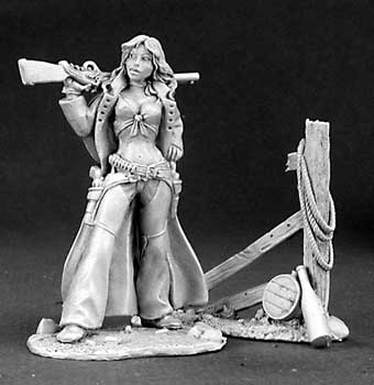 Ellen Stone Cowgirl (54mm scale) (Discontinued), 30005 Reaper Miniatures, Inc.