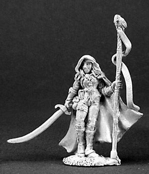 Maralis Moonscythe, Female Druid, 3094 Reaper Miniatures, Inc.