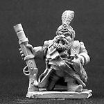 Aroudj Firebeard, Dwarf Pirate (OOP)