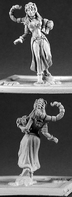 Children of the Zodiac: Scorpio (10/23 - 11/21) (OOP), 3368 Reaper Miniatures, Inc.