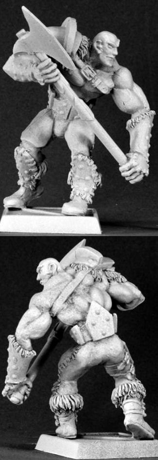 Uglunuk, Half Giant Warrior, 3412 Reaper Miniatures, Inc.