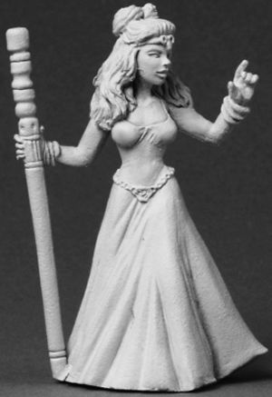 Tinley, Female Wizard, 3563 Reaper Miniatures, Inc.