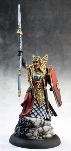 Aina, Female Valkyrie, 3643 Reaper Miniatures, Inc.
