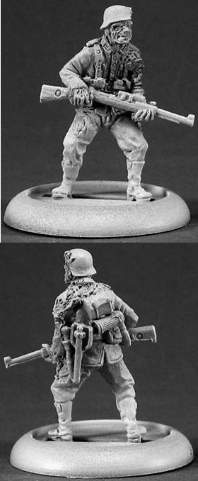 Kroid Zombie Sniper (Discontinued), 37003 Reaper Miniatures, Inc.
