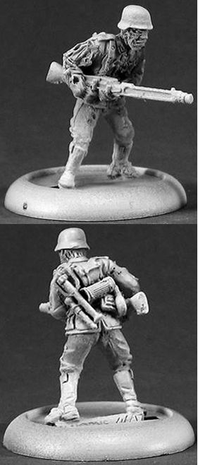 Kroid Zombie Machine Gunner (Discontinued), 37005 Reaper Miniatures, Inc.