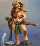 Tyrea Bronzelocks, Barbarian