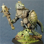 Lizardman w/ Club and Shield