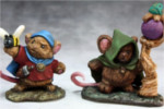 Mousling Druid and Beekeeper