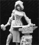 Larill Silverhand, Female Elven Blacksmith