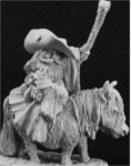 Dwarf Battlemage on Pony