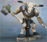 Skeletal Minotaur