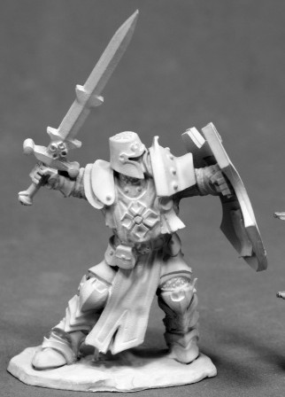 Crusader Champion (Sword and Shield), 3828 Reaper Miniatures, Inc.