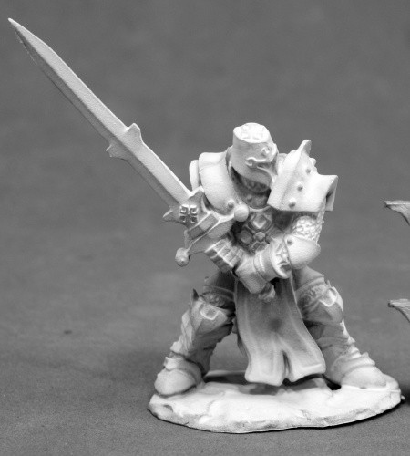 Crusader Justifier (Two Handed Sword), 3830 Reaper Miniatures, Inc.