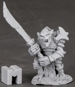 Armored Goblin Leader, 3849 Reaper Miniatures, Inc.