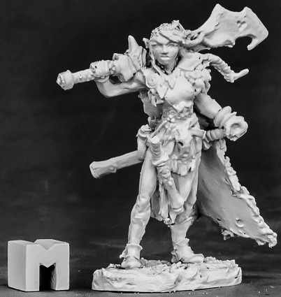 Talnyth, Elf Barbarian, 3861 Reaper Miniatures, Inc.