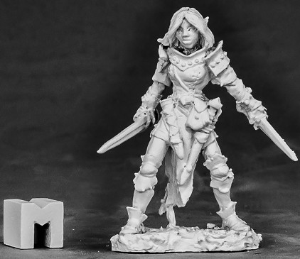 Shardis, Elf Rogue, 3862 Reaper Miniatures, Inc.