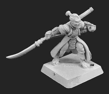 Phoenix Clan Elite Pikeman (Discontinued), 4431 Reaper Miniatures, Inc.