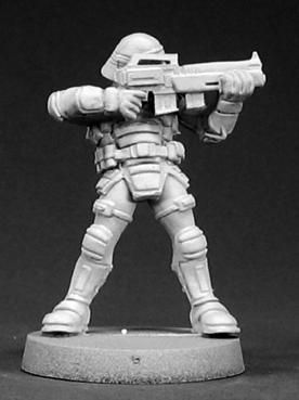 NOVA Corp. Security Guard, 50004 Reaper Miniatures, Inc.