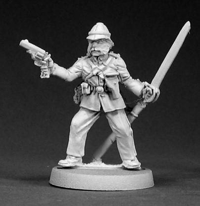 Col. Edward Titchener, British Officer (OOP), 50006 Reaper Miniatures, Inc.