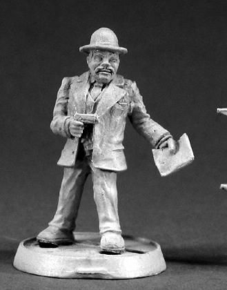 Chang, Honolulu Investigator (OOP), 50009 Reaper Miniatures, Inc.