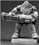 Reggie Van Zandt, Space Marine