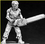 Zombie Boss with Chainsaw