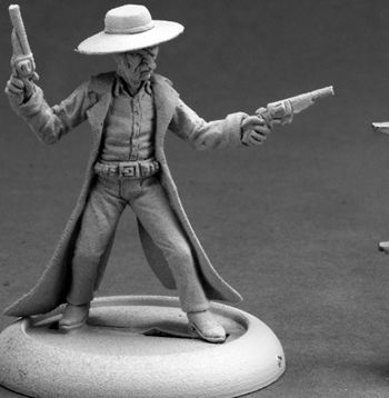 Deadeye Slim, Cowboy, 50249 Reaper Miniatures, Inc.