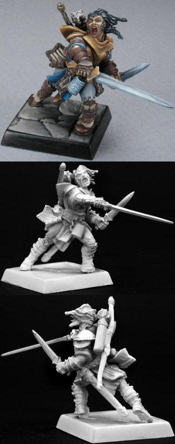 Valeros Pathfinder Miniature Miniature-GIANT...