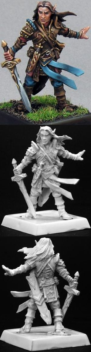 Arael, Half Elf Cleric, 60005 Reaper Miniatures, Inc.