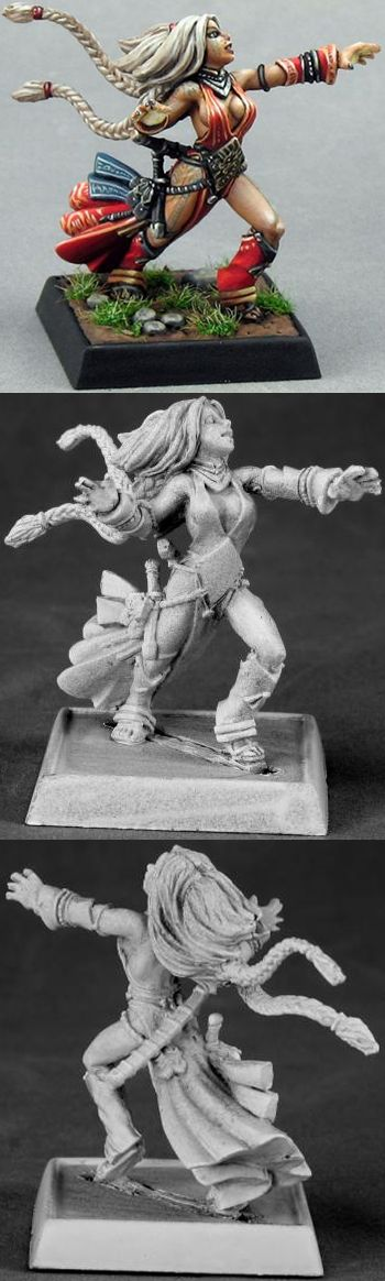 Seoni, Iconic Female Sorceress, 60009 Reaper Miniatures, Inc.