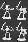 Skeletons, with swords (5) (OOP)