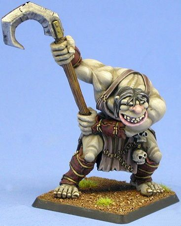 Hook Mountain Ogre #2, 60030 Reaper Miniatures, Inc.