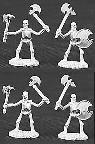 Skeletons, with axes (5) (OOP)