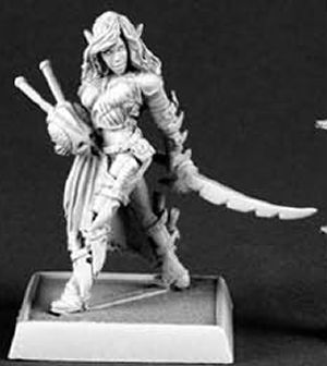Chivane, Red Mantis Assassin, 60072 Reaper Miniatures, Inc.