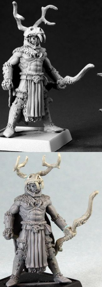 The Stag Lord, 60073 Reaper Miniatures, Inc.