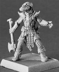 Degenerate Serpentfolk, 60090 Reaper Miniatures, Inc.