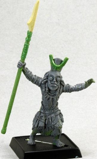 Jigeke the Exile, Mwangi Necromancer, 60091 Reaper Miniatures, Inc.