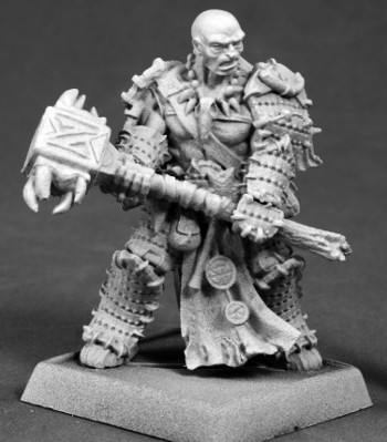 Crowe, Iconic Bloodrager, 60177 Reaper Miniatures, Inc.