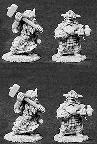 Dwarven Hammers (4) (OOP)