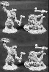 Lizardmen Warriors (4) (OOP)