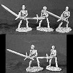 Skeletons with Two Handed Swords (5) (OOP)