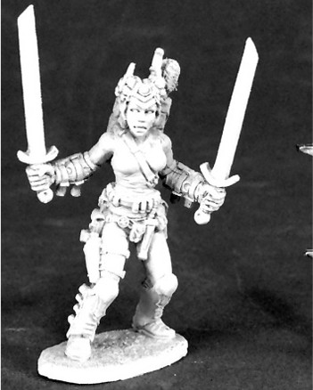 Female Glaive, 62113 Reaper Miniatures, Inc.