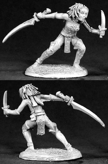 Lodoni, Female Thief (OOP) (Discontinued), 65001 Reaper Miniatures, Inc.