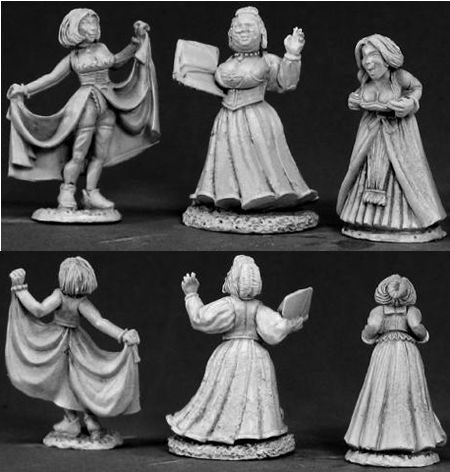 Townsfolk: Strumpets (Discontinued), 65009 Reaper Miniatures, Inc.