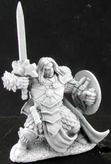 Ansel, Paladin of Laris (Discontinued), 65018 Reaper Miniatures, Inc.